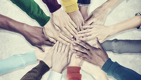 People Hands Together Unity illustrating our article of investors unity